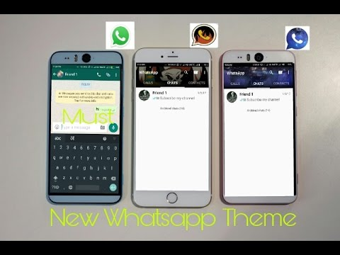 Whatsapp Theme  || How to change whatsapp theme || New Theme for whatsapp