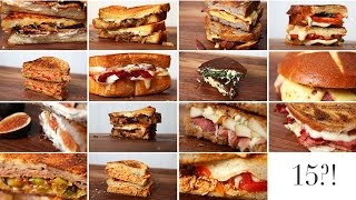 15 Grilled Cheese Ideas | Happy Grilled Cheese Month!!!