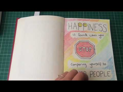 Doodle Quote Book Flip Through Part 2