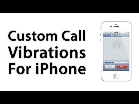 [iOS Advice] How To Create Custom Vibrations For iPhone - iOS 5 / iOS 6