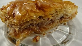 First Try at Baklava! - with yoyomax12