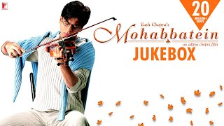 Mohabbatein Audio Jukebox  Full Songs  Jatinlalit  Shah Rukh Khan  Aishwarya Rai