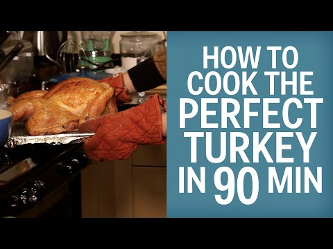 How To Cook The Perfect Turkey In 90 Minutes Flat