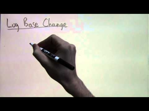 Logarithm Base Change