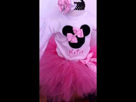Minnie mouse Tutu dress by Pekekids outfit