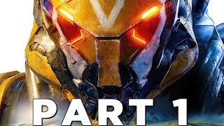 ANTHEM EARLY WALKTHROUGH GAMEPLAY PART 1 - INTRO (Story Campaign)
