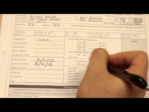 On The Move   Rental Form Video