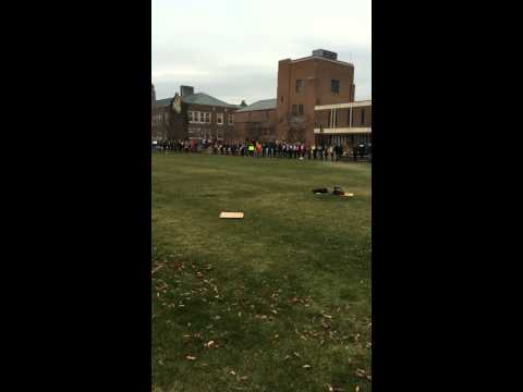 SUNY Geneseo protesting for Brown and Garner and to end police brutality
