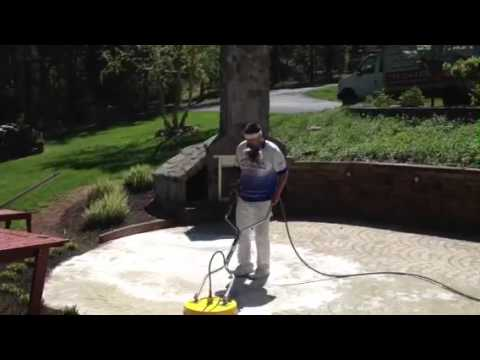 Stamped Concrete Cleaning Spring Grove, PA