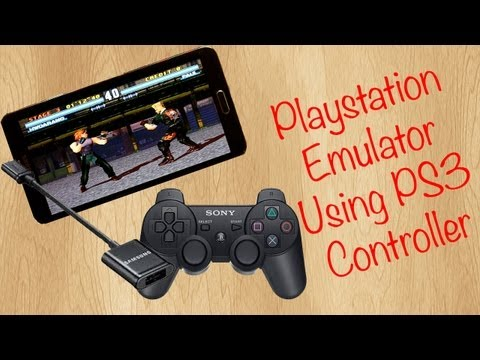 Play PlayStation Games on Android Phone using PS3 Controller (Playstation Emulator) - Note 3