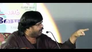 T Rajendar angry speech about DANDANAKKA
