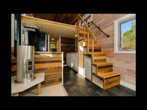Tiny House Stairs Storage