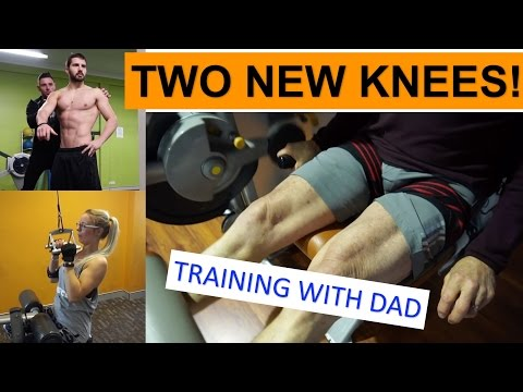 Training with Dad | Double knee replacement + clients