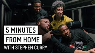 Stephen Curry and Kevin Durant Surprise High School Team   5 Minutes from Home