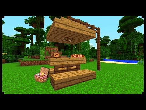 Picnic Table in Minecraft