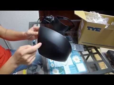 [English Version] Heated or Non-heated, How to replace rear-view mirror on Honda Civic 2012