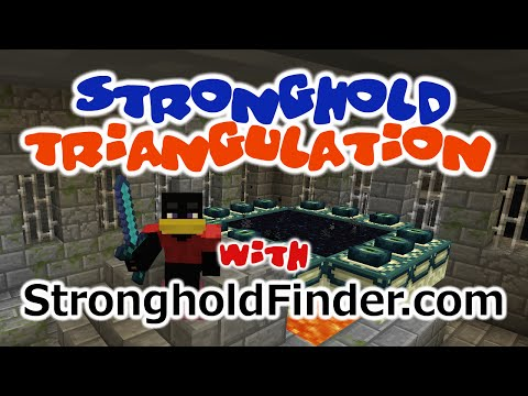 Easy Minecraft Stronghold Triangulation with the Minecraft Stronghold Finder at Strongholdfinder com