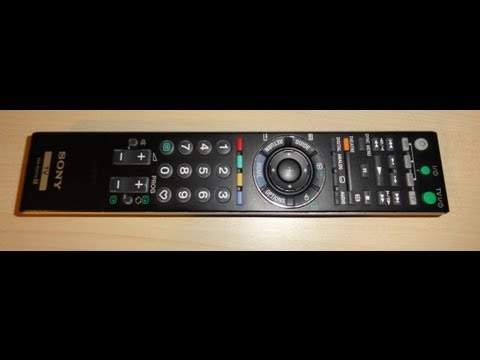 Repairing SONY TV remote control RM-ED012 (2012)