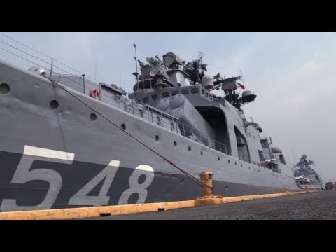 PH welcomes Russian Navy