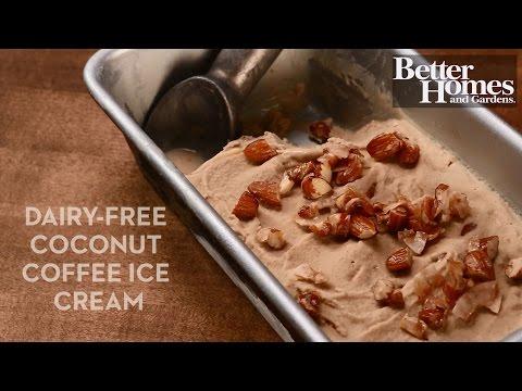 Dairy-Free Coconut Coffee Ice Cream