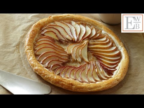 Beth's Easy Pear Tart Recipe | ENTERTAINING WITH BETH