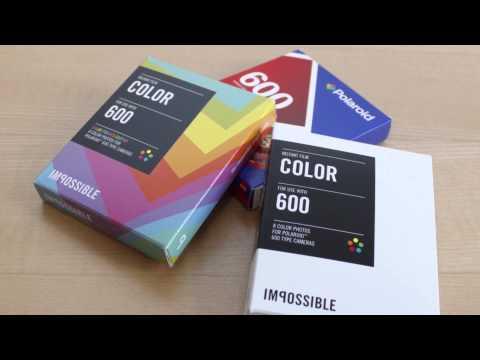 What Film Do I Need? - Tutorial: How To Use A Polaroid 600 Camera