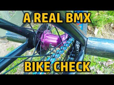 A Real BMX Bike Check!