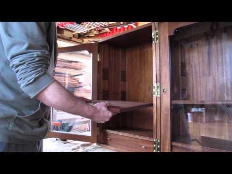 Campaign Folding Bookcase