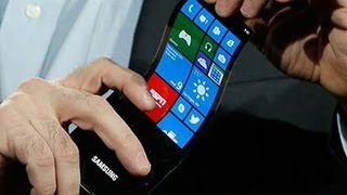 Samsung Keynote @ CES 2013 - Youm flexible Displays OLED Display [HD]