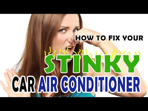 How to Fix Your Stinky Car AC