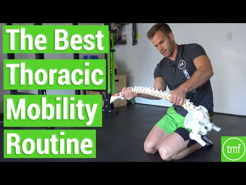 The BEST Thoracic Mobility Routine | Ep 80 | Movement Fix Monday | Dr. Ryan DeBell