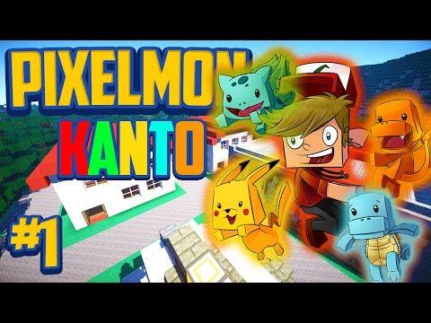 Minecraft Pixelmon Kanto Edition