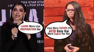 Deepika Padukone BREAKDOWNS While Talking About Laxmi Agarwal At Chhapaak Trailer Launch