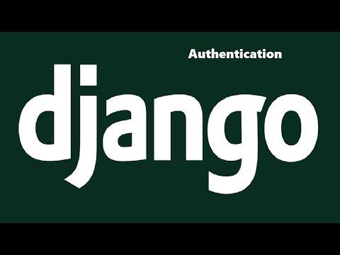 Django Authentication Basics