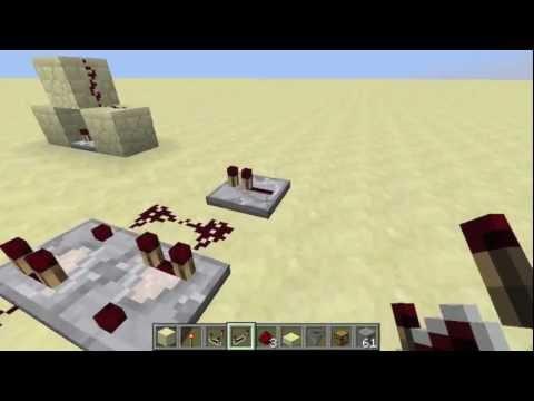Redstone Tutorial: Comparator Pulse Extender