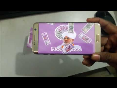MODI KA NOTE | How to Check original Indian new currency | Modi note effect