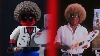 "Deadpool's ""Wet on Wet"" Teaser in LEGO Side by Side Comparison"