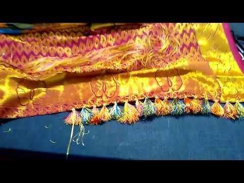 How to make saree kuchu/tussel in home tutorial #3 DIY