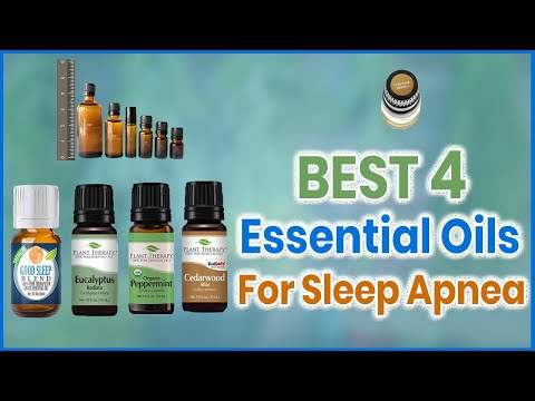 Best 4 Essential Oils for Sleep Apnea in 2018