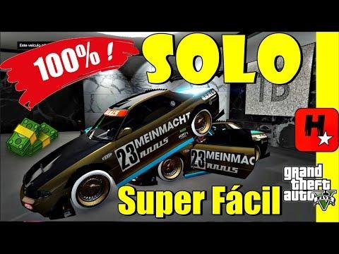 GTA 5 SOLO Money GLitch PS4/X1/PC💲Glitch 100% Solo Duplicar Carros💲GTA V EASIEST Solo Money Glitch