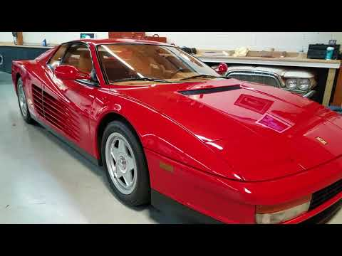 1987 Ferrari Testarossa For sale Michigan sports car appraisal 800-301-3886