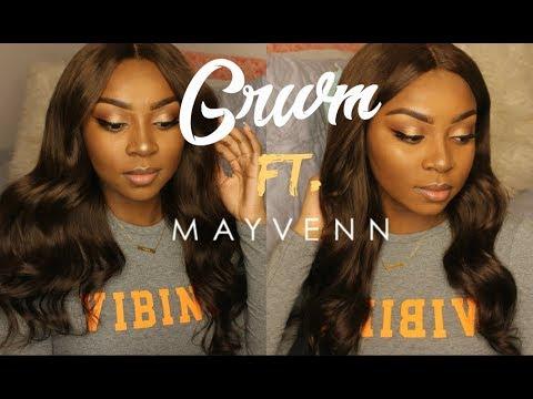 Get Ready With Me Ft. NEW Mayvenn Dyed Hair