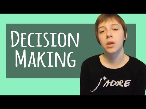 Making Those Tough Choices