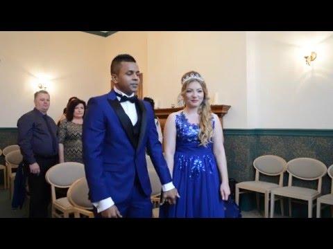 Jerome and Bianca Wedding 05/01/2016 Croydon Register Office