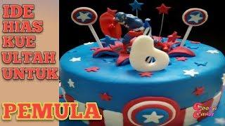 Lucu Unik Superhero Batman Dekorasi Kue Ulang Tahun Anak