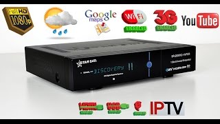 تعريف رسيفر starsat 2000 hd hyper و كيفية تحديثه  و تفعيل wifi