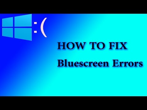 How to fix any Bluescreen(BSOD) error in windows?