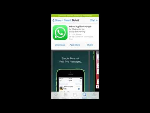 How to install Whatsapp on an Ipod/ Ipad ios8 (Cydia tweak)
