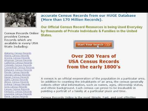 Census Records Online