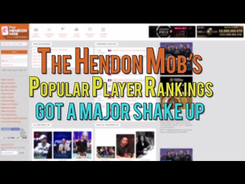 Dr. David Dao Tops the The Hendon Mob's Popular Player Rankings